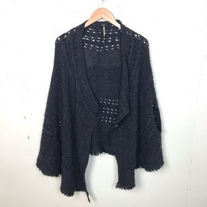 Free People Sleeveless Open Front Cardigan Sweater